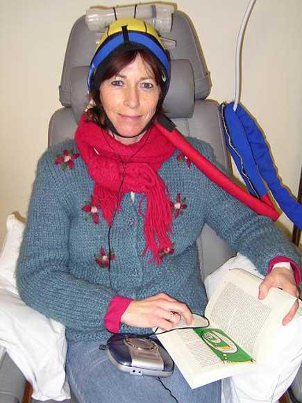 Tijdens de chemotherapie